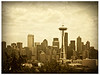 IPhone Art Kerry Park Seattle Washington