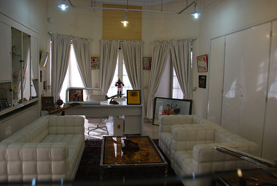 The crown prince's sitting room in Ahmad Shahi Mansion.