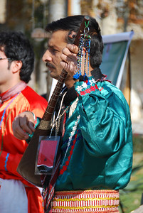 Musicians for the dance troupe from Mashad.