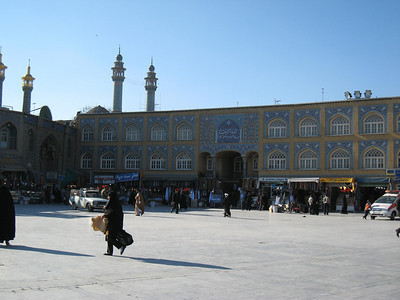 Main square in Qom.