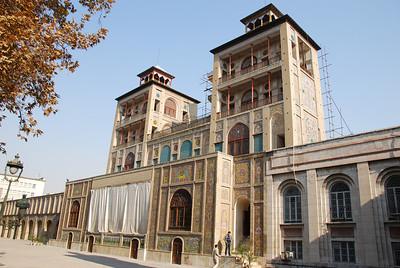Exterior of Shams al Emarat, Tehran