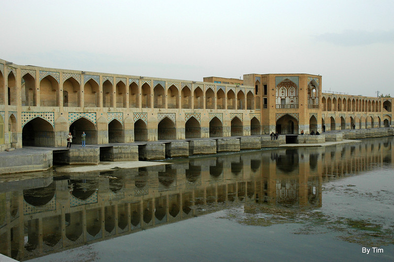 bridge. Ishfahan