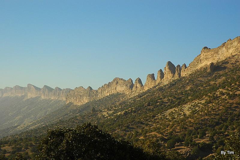Zagross Mountains between Kermanshar & Ilam