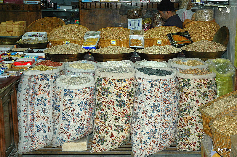 grains and nuts, Bazar-e Vakil