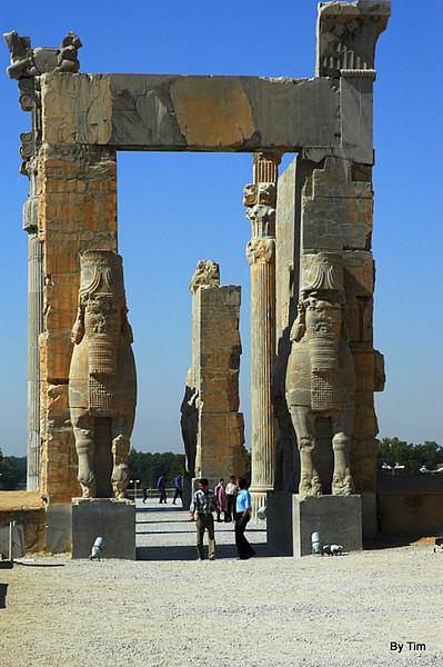persepolis archway