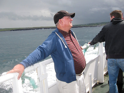 27 Aran Innisheer Michael on Ferry