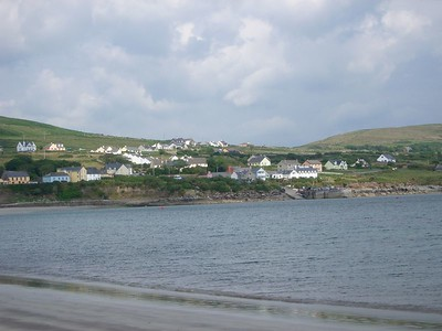 Beach along the Dingle Peninsula
