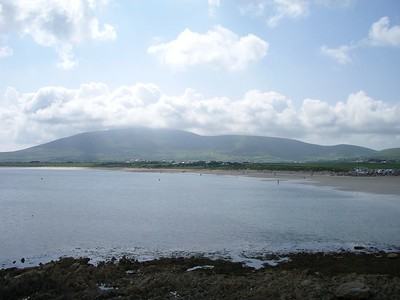 Beginning our drive of the Dingle Peninsula