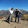 On the summit I met Jack and Aysel, they had traversed over from Mount Baldy and were also heading back the same way.