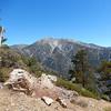 Mount Baldy from 7000 feet.