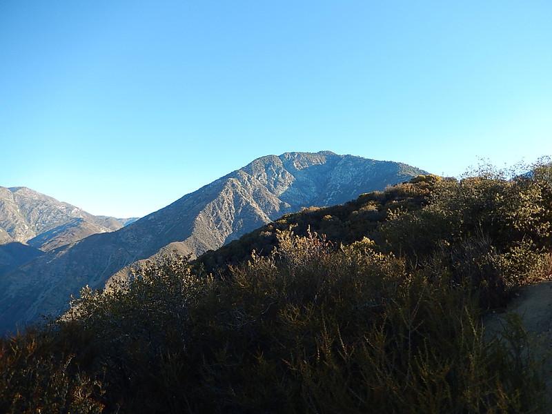 First sight of my destination - Iron Mountain