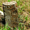 an ancient state line marker for TN.