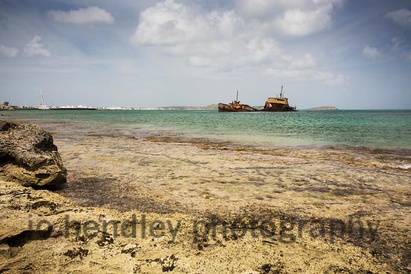 Shipwreck, Marigot 2015