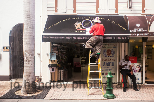 Sign Painter, Philipsburg. SXM 2014