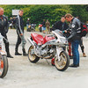 These 2 traveled together usually in the back of a van. Waterfall Hotel Glen Maye Ducati gathering Mad Sunday.