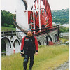 The Lady Issabella, the wheel not me. Laxey wheel.