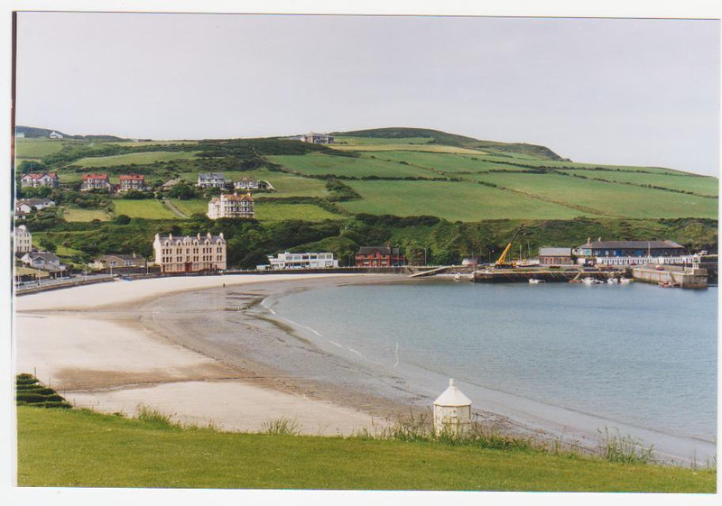 Port Erin at the South of the Island.