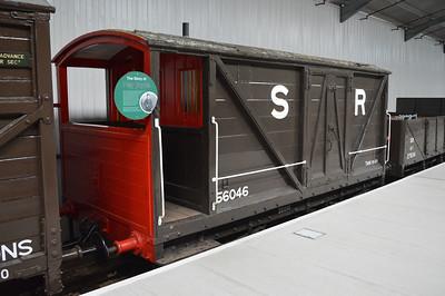 LSWR Brake Van 56046.