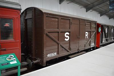 LBSCR 46924 Cattle Wagon/Luggage Van.