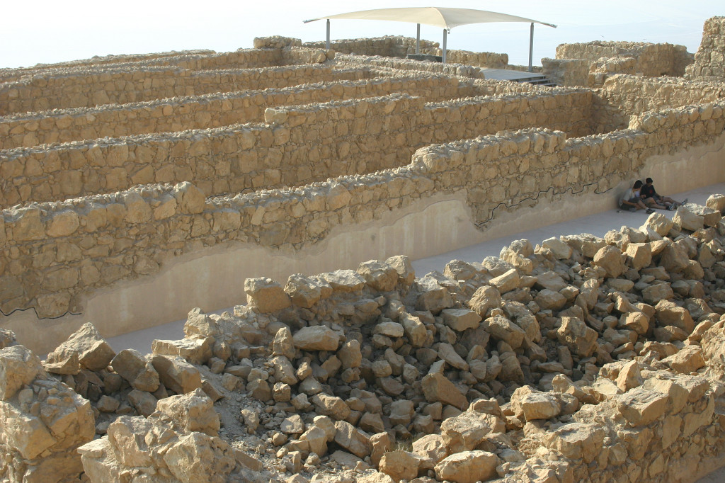 Multiple large storerooms like these contained the materials that Herod needed to maintain a royal lifestyle