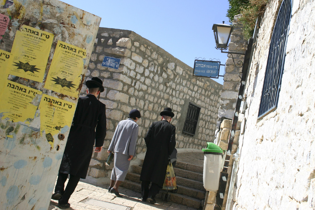 Throngs of ultrareligious populate Safed