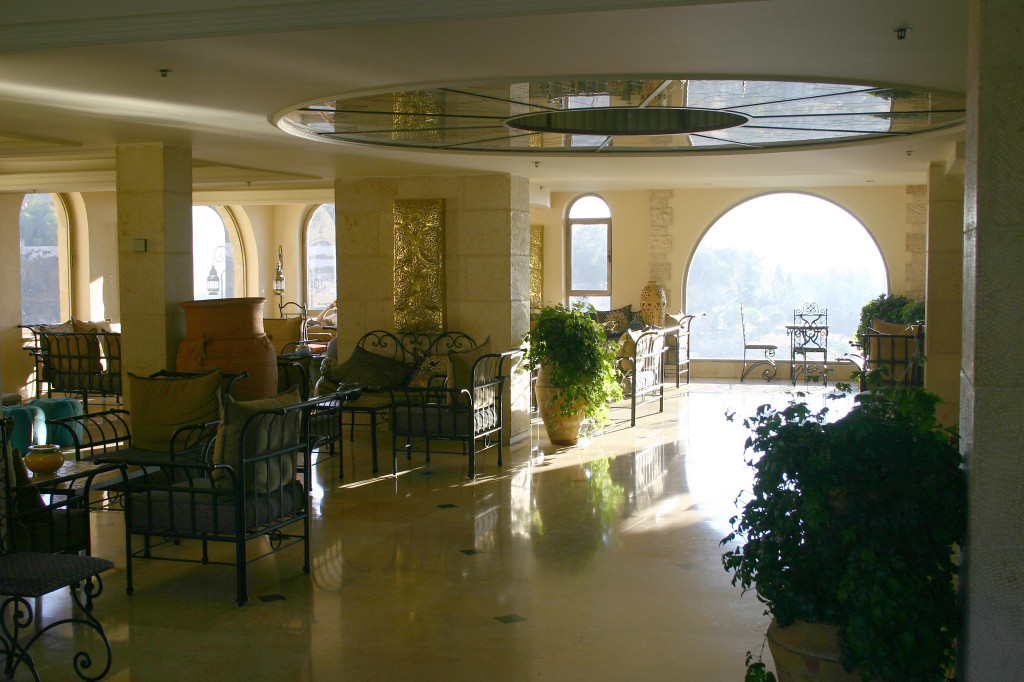 Lobby of the Mt. Zion Hotel