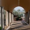 Outside of the Jordan River visitor center