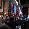 Many different items, much color, smells, and sounds make the bazaar a sensory overload experience in Old City Jerusalem.