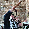 Blowing The Shofar, Jerusalem, Israel