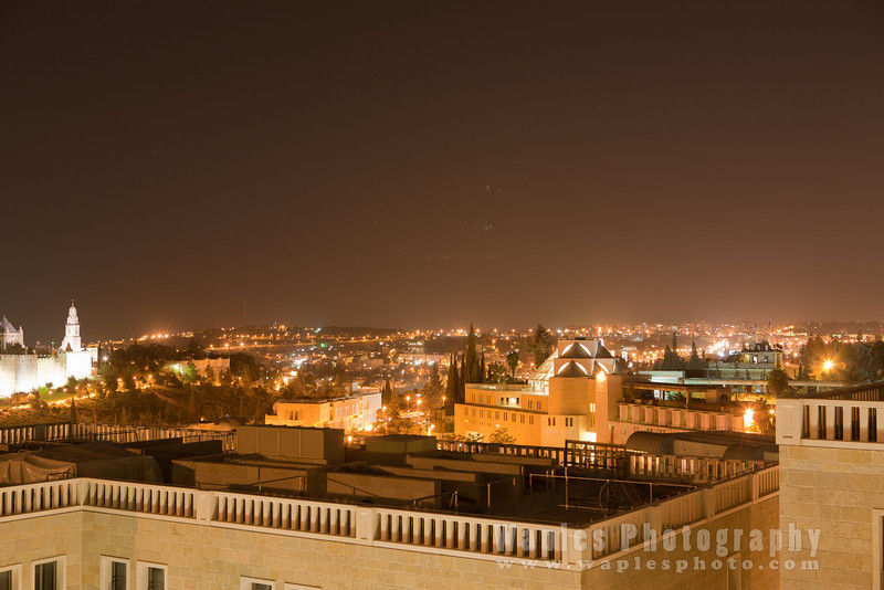 View from Hotel Mamilla