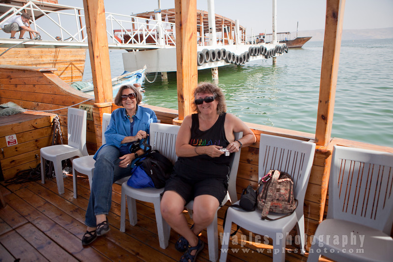 Cruising on the Sea of Galillee