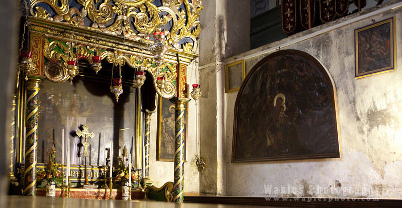 In the Church of the Nativity