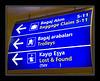 Ataturk Airport sign