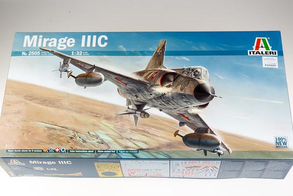 Italeri 1/32 Mirage IIIC Review