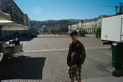 Italy 2010 with Nathan