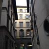 Hotel street scene
