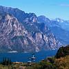 Looking Toward the Alps at Lake Garda