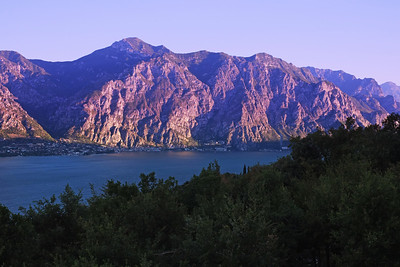 Lake Garda, Looking Toward Limone