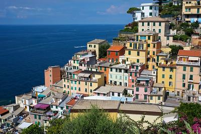 Riomaggiore, in Cinque Terre