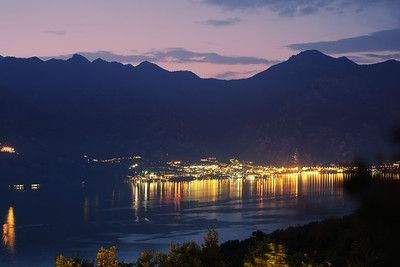 Evening on Lake Garda, Looking Toward Limone