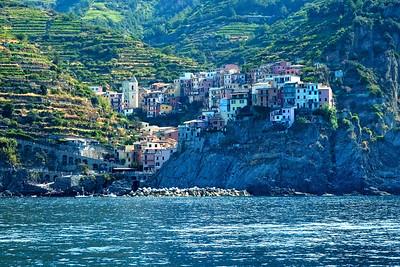 Vernazza, Cinque Terre, from Below