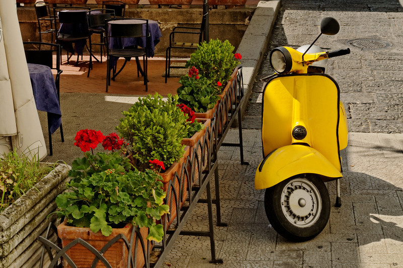 Amalfi Scooter