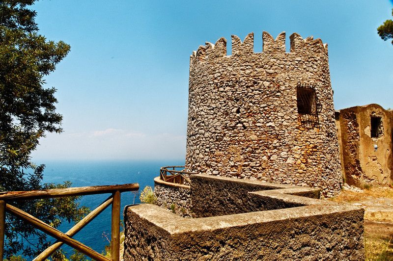Villa Imperiale Damecuta Guard Tower - Capri