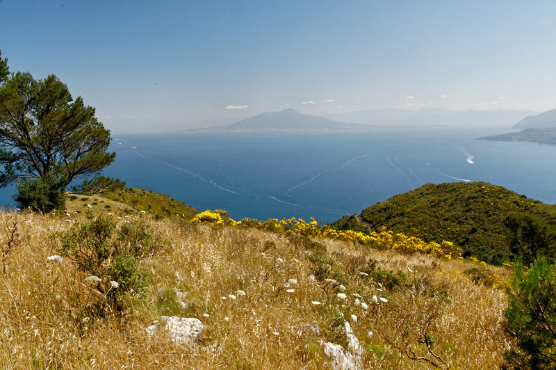 Vesuvius as seen from Monte Solaro, Capri