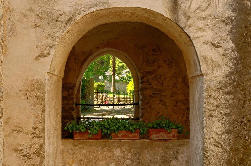 Villa Rufolo Windows, Ravello