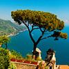 Villa Rufolo, Ravello, Postcard View
