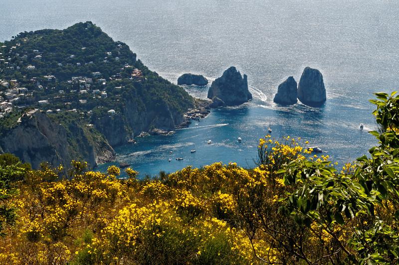 Marina Piccola as seen from Monte Solaro