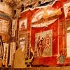 Herculaneum House - Interior view of fresco