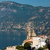 Daytime View of Positano from Praiano