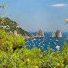 Capri - Marina Piccola -- The three rocks are a symbol of Capri